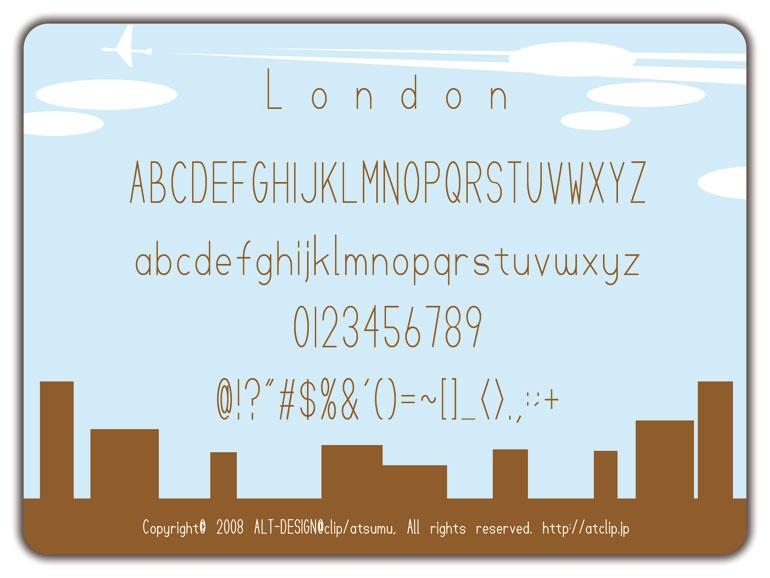 オシャレな英字フォントが無料でダウンロードできます。フリーフォント