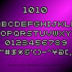 電飾のような点字フォント 1010 個人商用可